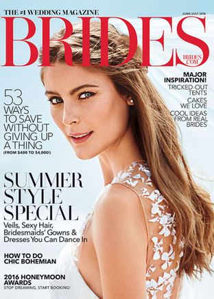Brides Magazine June/July 2016
