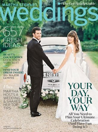 Martha Stewart Weddings Winter 2016/2017