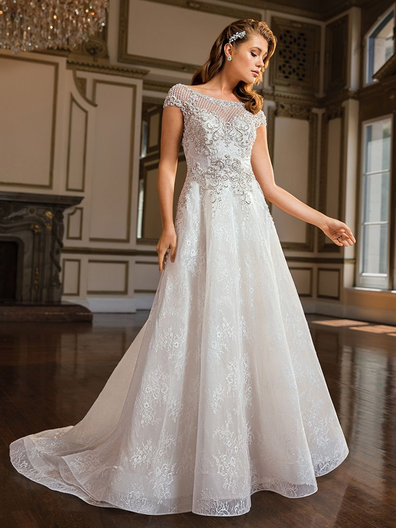 Diana Wedding Dress.Style C140 Diana Amare Couture Bridal