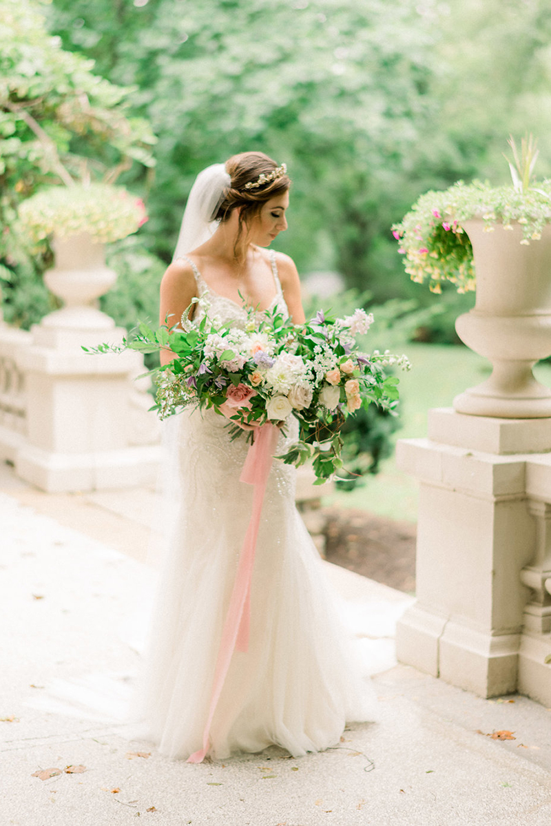French Inspired Styled Shoot Wedding Inspiration: Style C113 Evangeline | Amare Couture Wedding Dresses