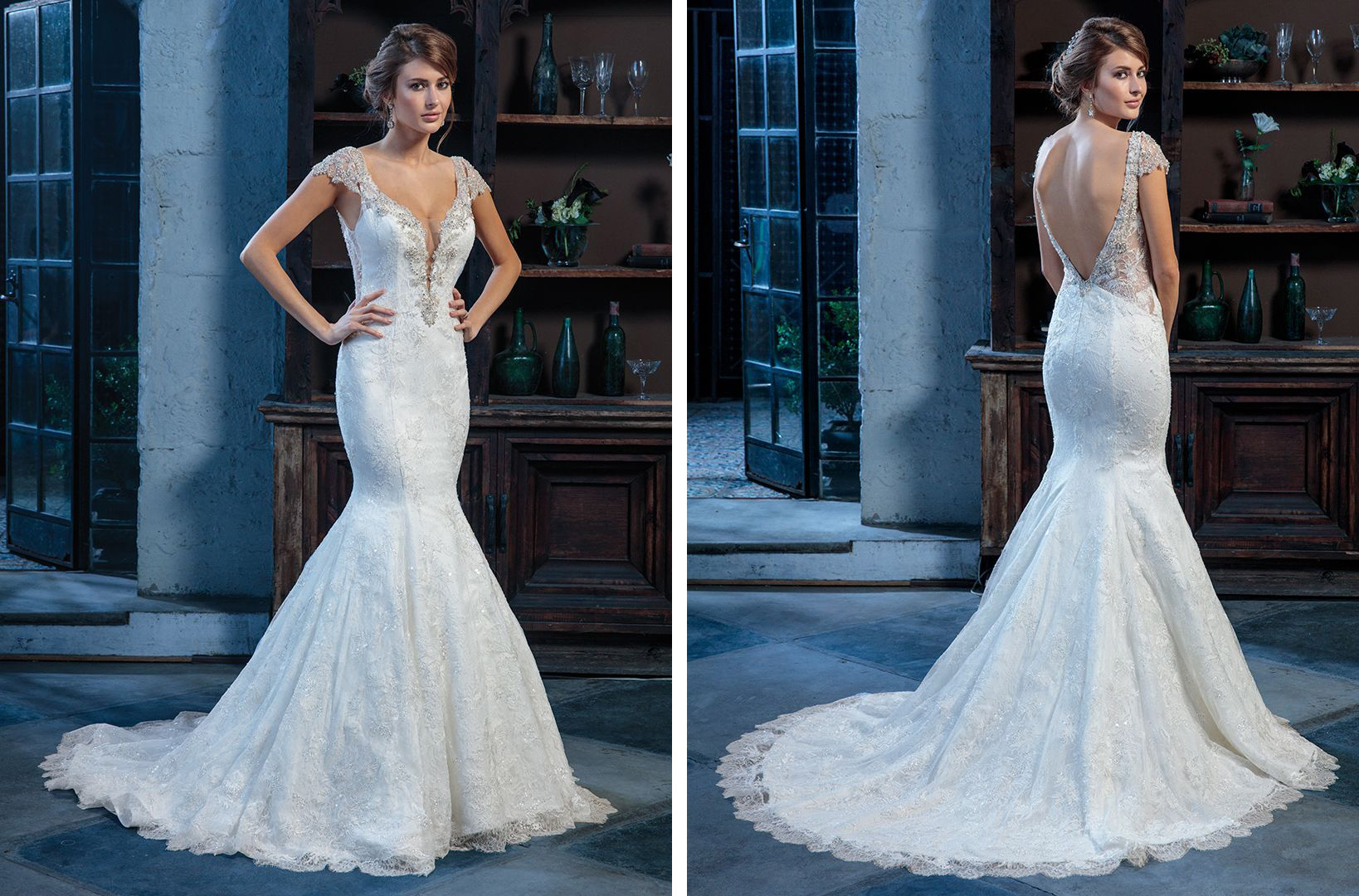 Seven Unique Lace Wedding Dresses by Amare Couture / Blog / Amaré ...